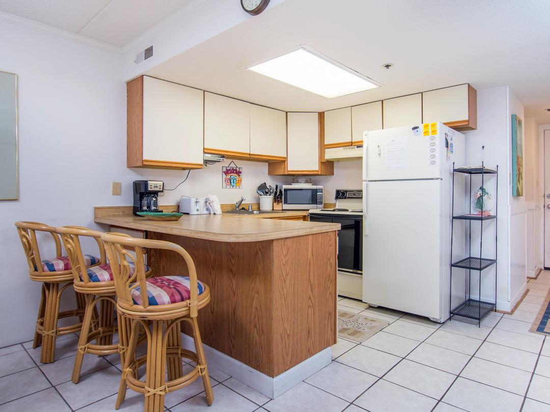 Summer Beach, 405 - Kitchen Area