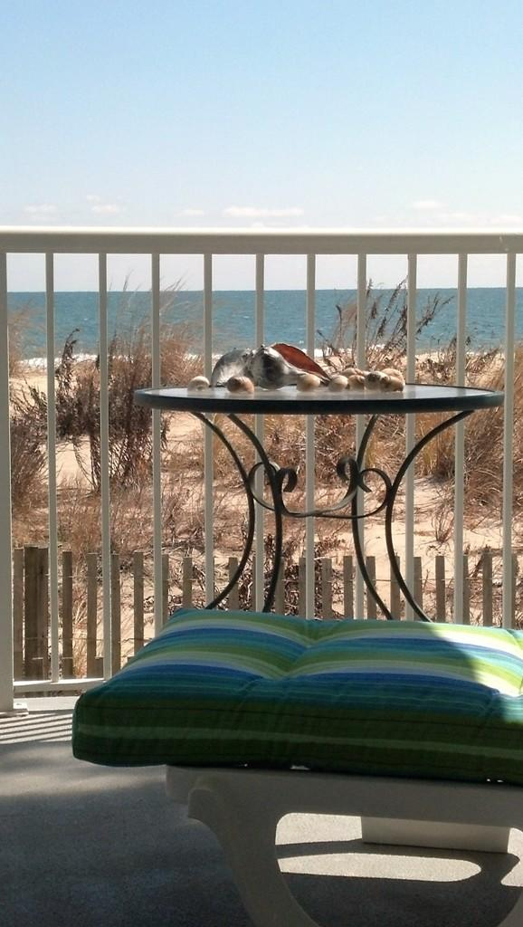 Silver Sands, 102N - Balcony View