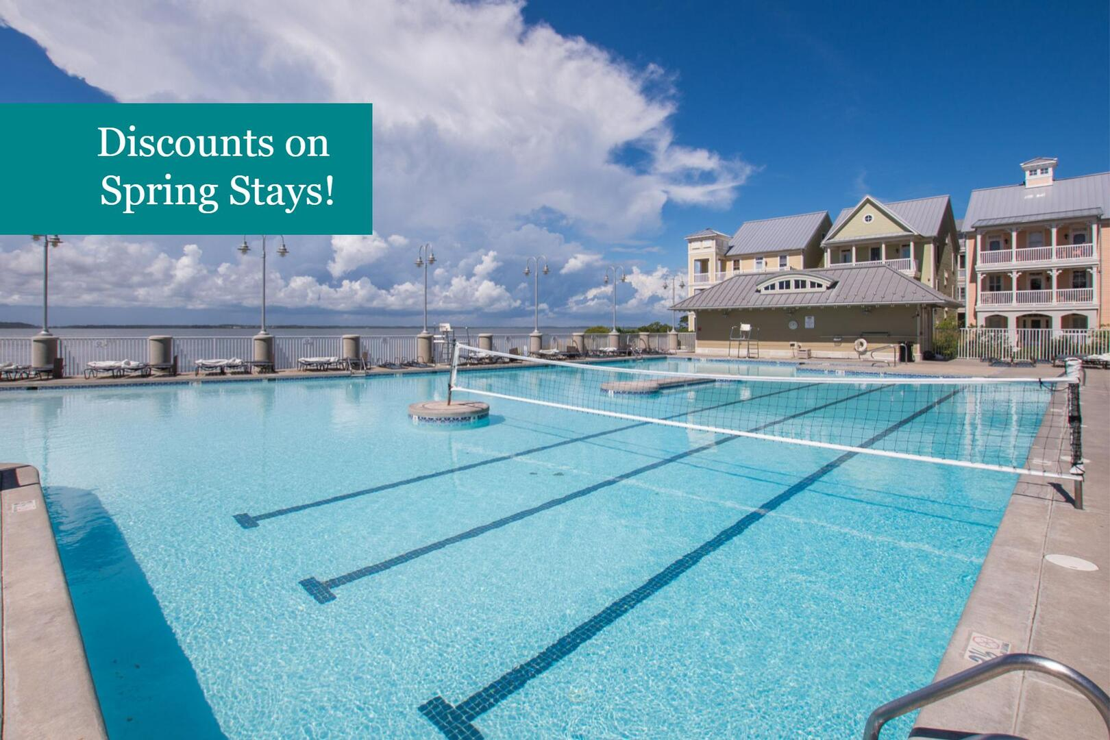 Rates Reduced on Select Spring Getaways