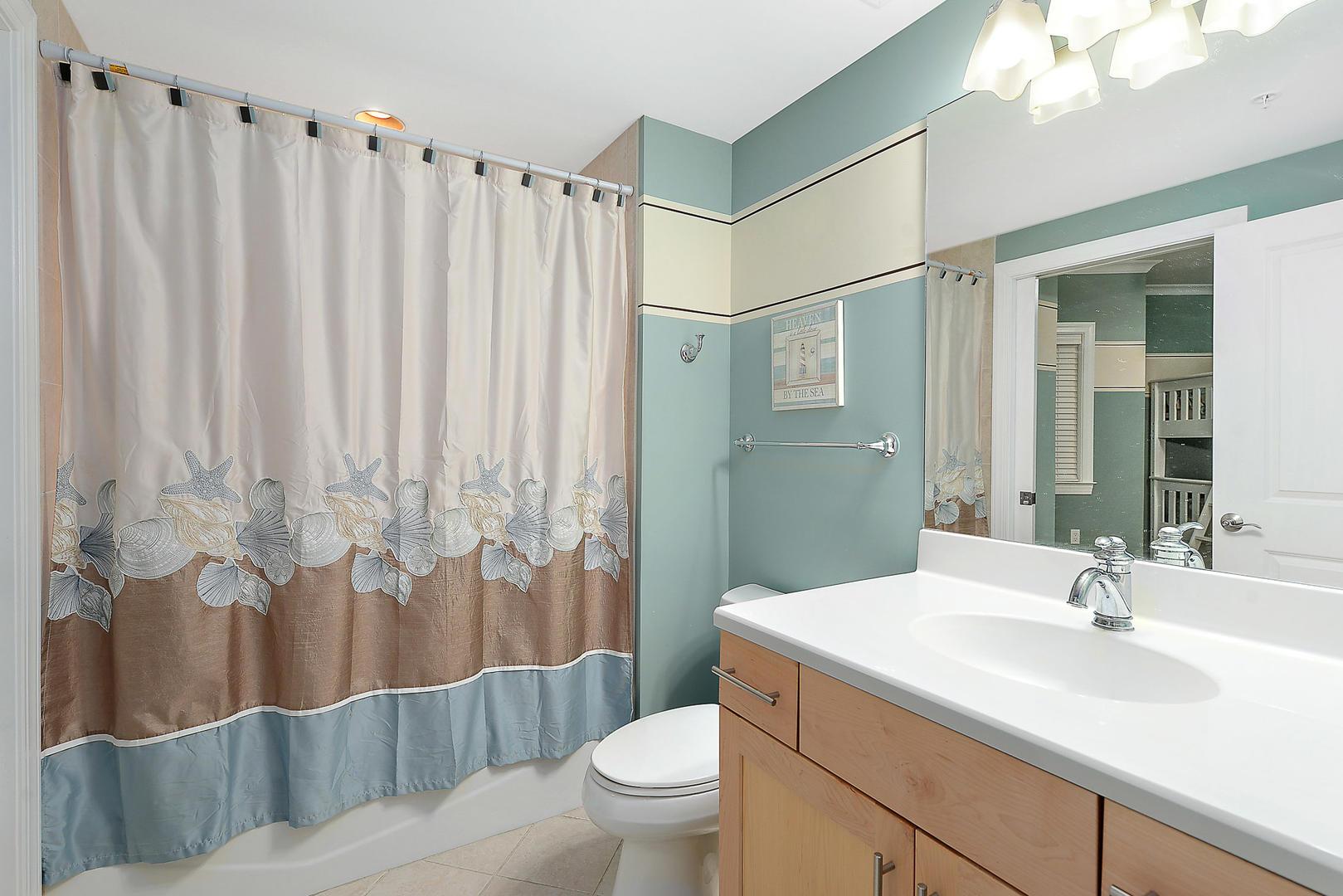 Hall Bath - connected Bunk Room