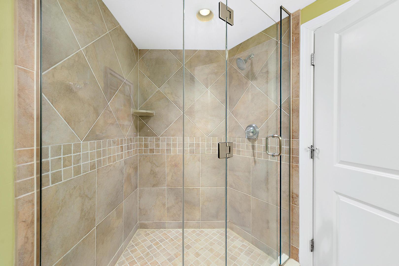 Master On Suite Shower