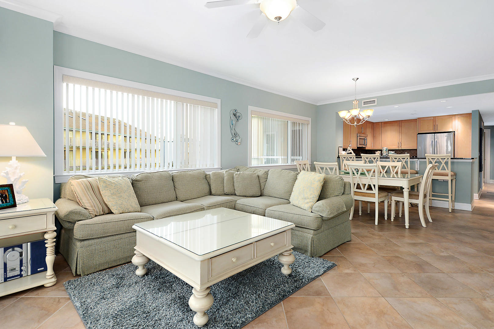 Open concept for family