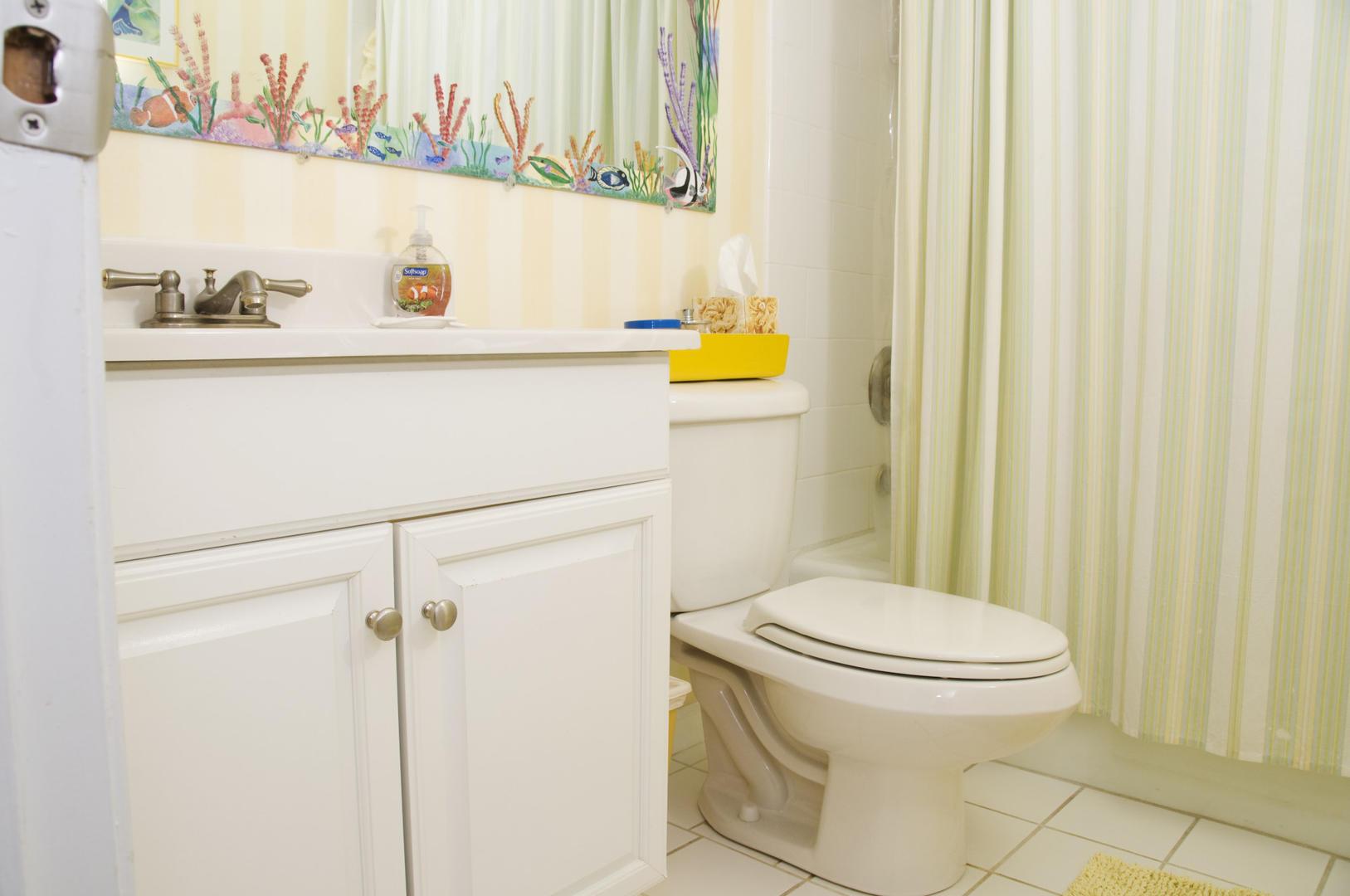 Ocean Hideaway 104 - Bathroom 1