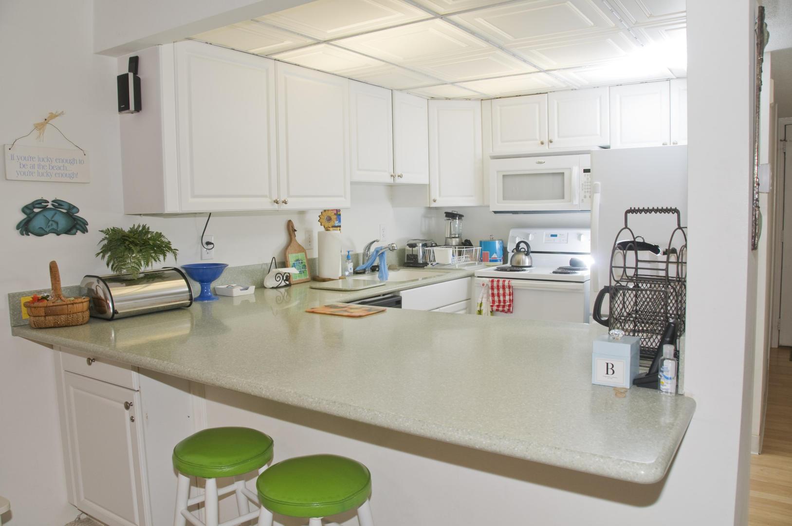 Ocean Hideaway 104 - Kitchen