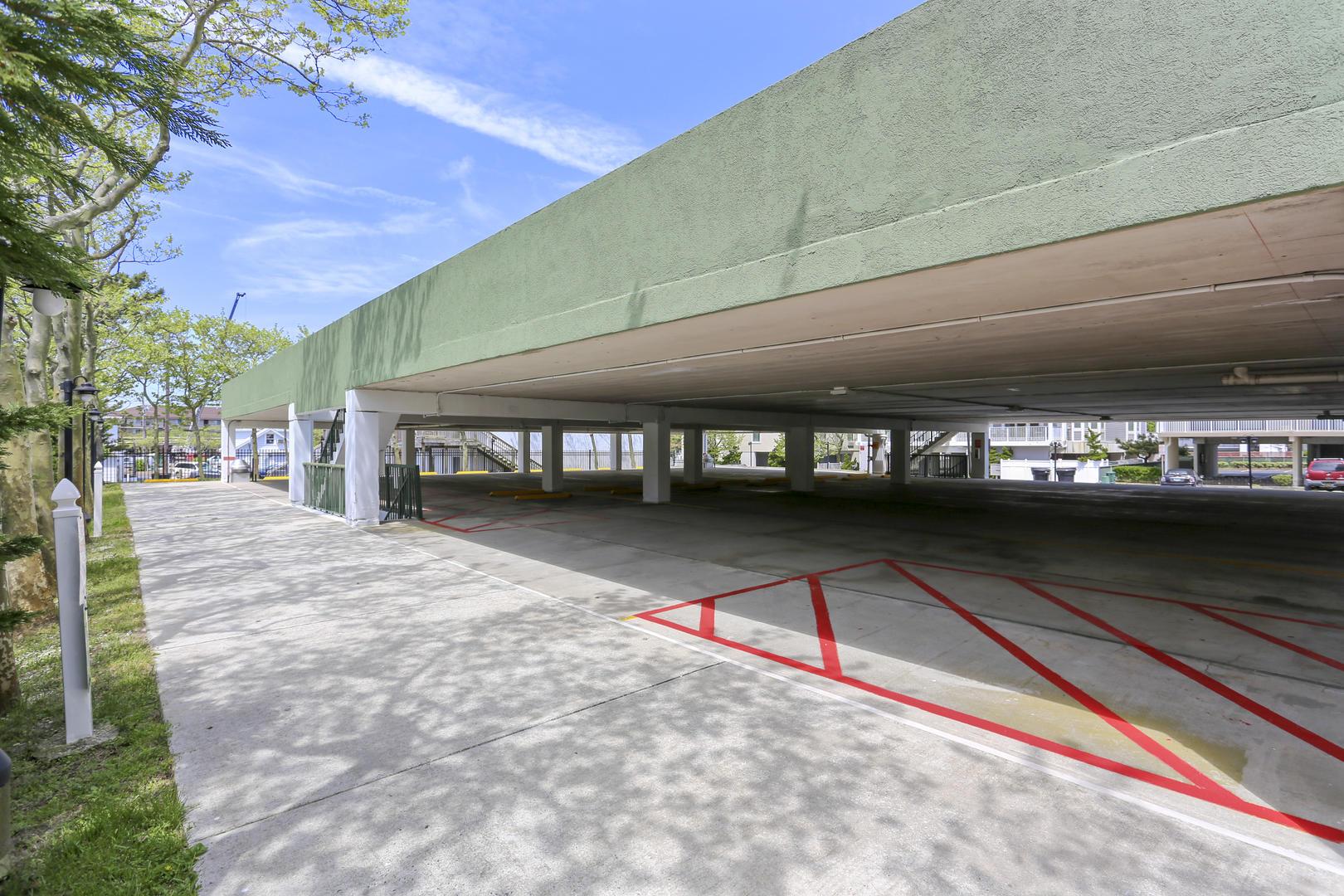 Summer Beach Parking Garage