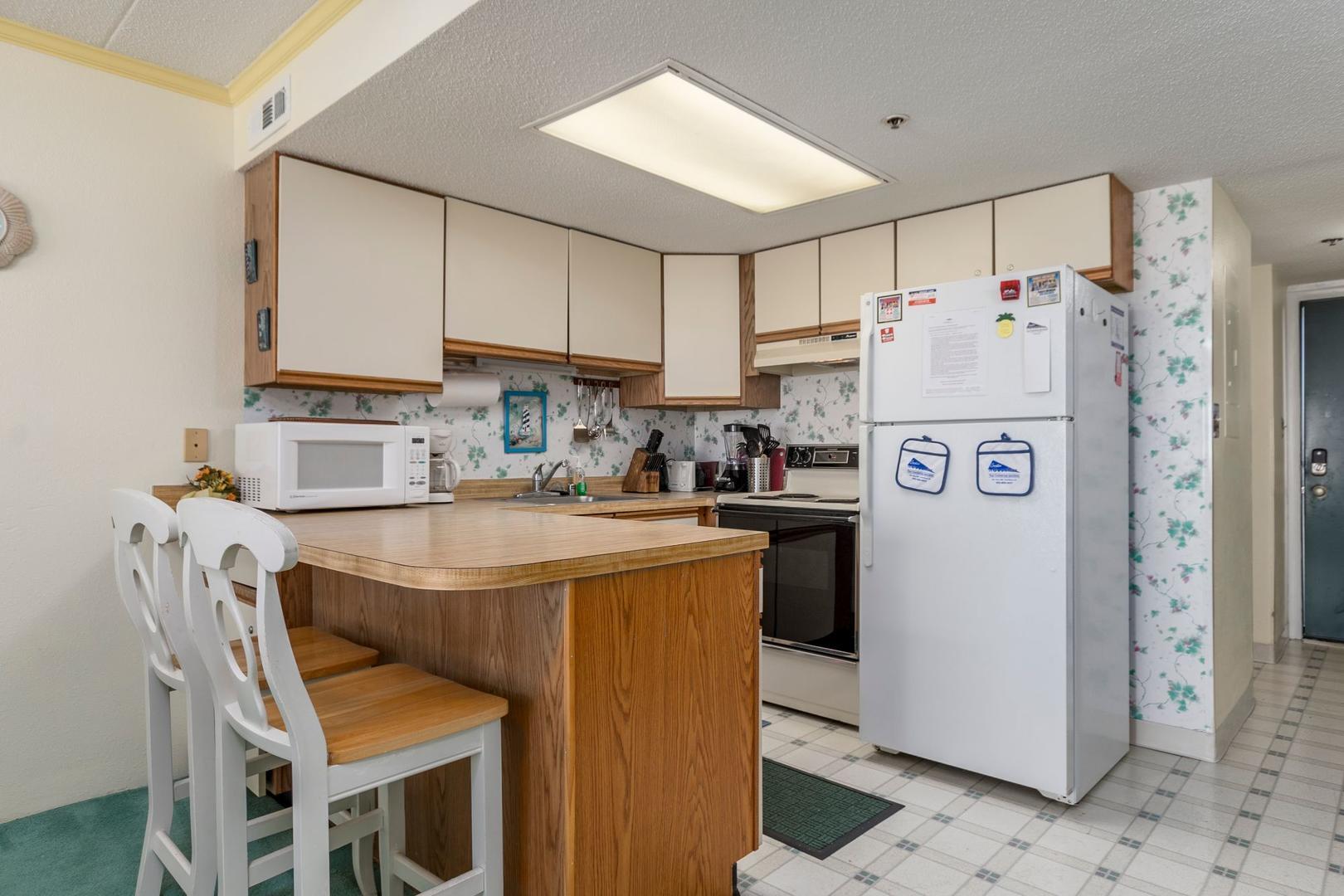 Summer Beach 605 - Kitchen