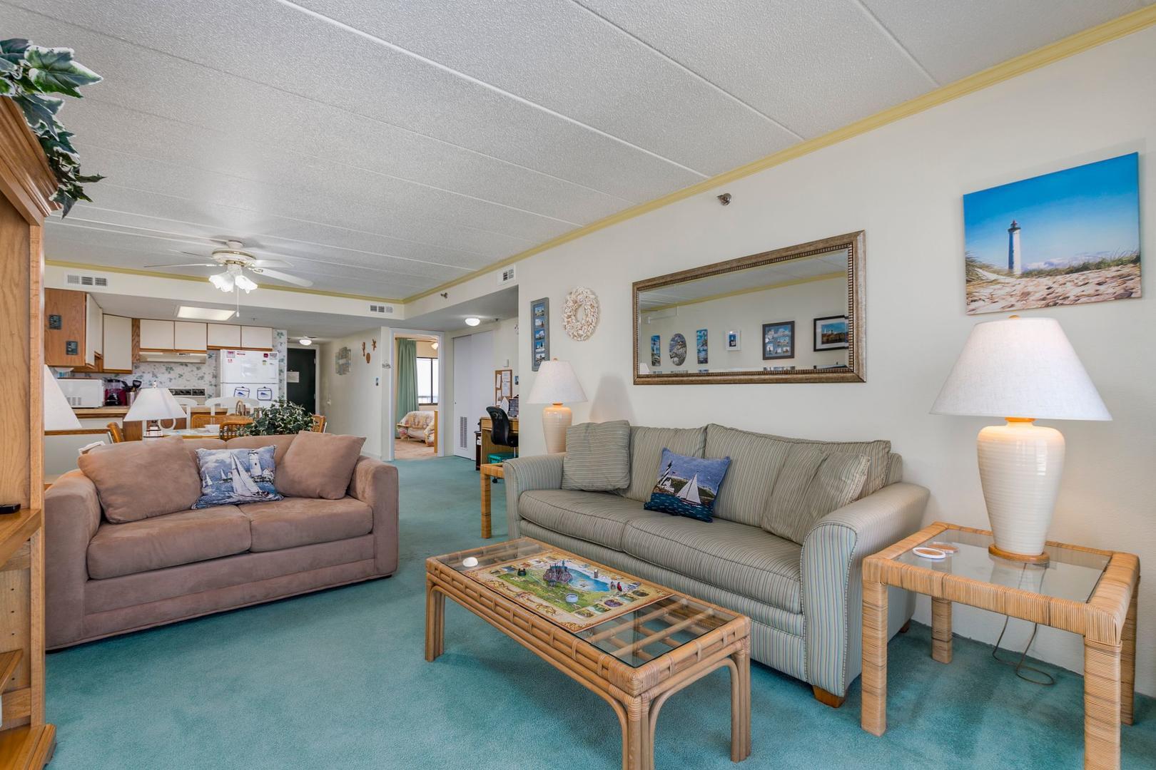 Summer Beach 605 - Living Room