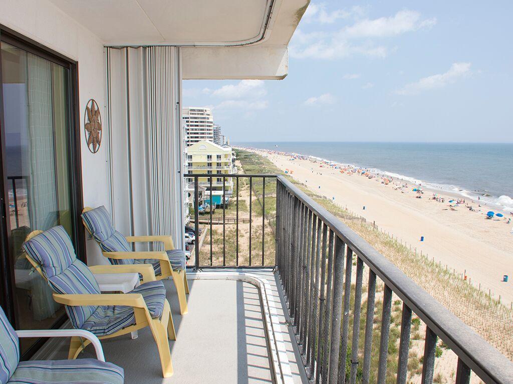 Golden Surf, 701 - Balcony Area