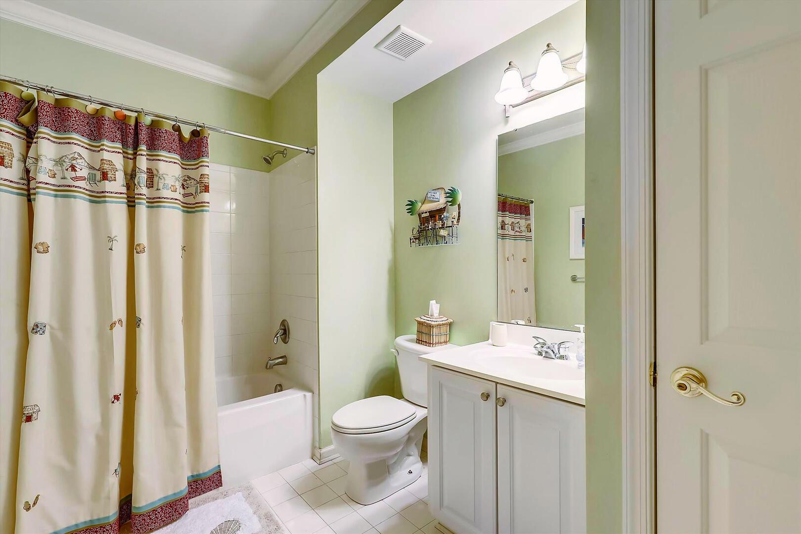 Hall Bathroom of 37 Fountain Dr. W 3C in Sunset Island