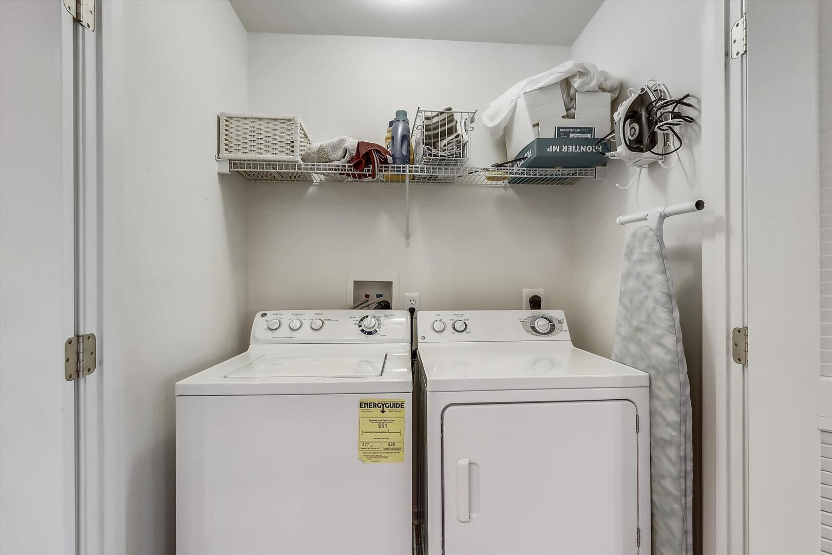 Laundry Area of 37 Fountain Dr. W 3C in Sunset Island