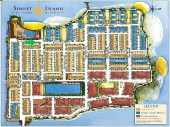 Sunset Island, 6 Beach Side Drive Location