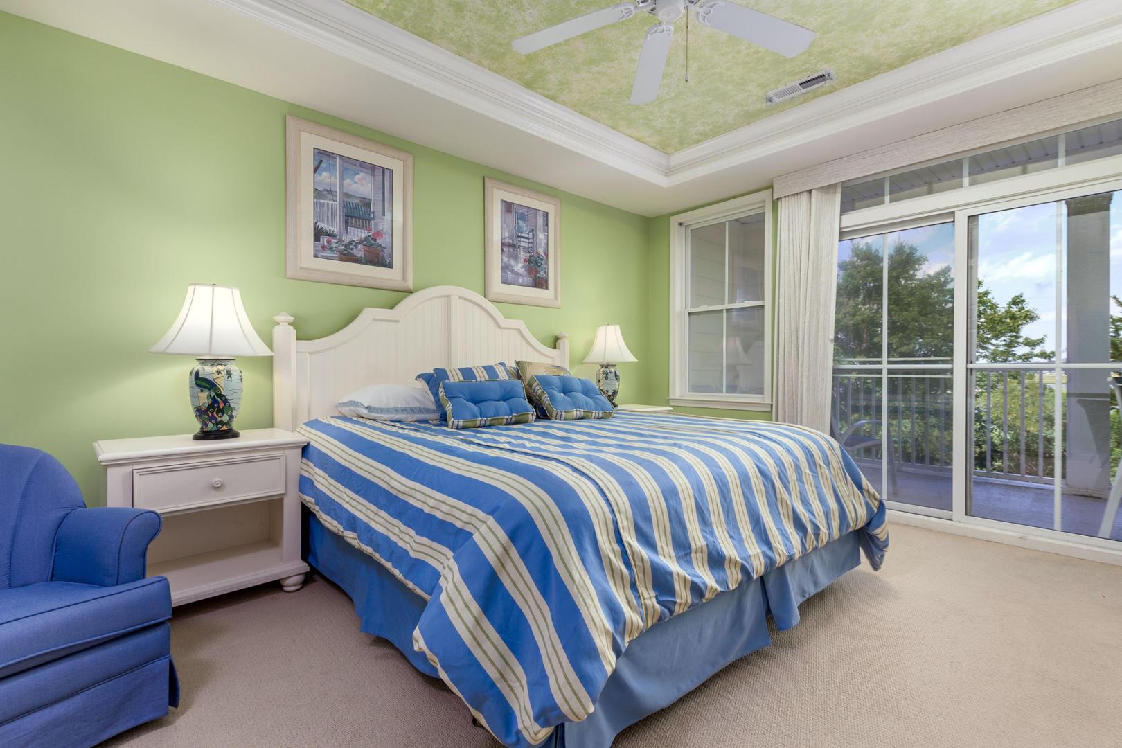 Sunset Island 6 HCW 2E - Master Bedroom