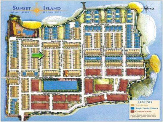 Sunset Island, 8 Beach Walk Lane - Map