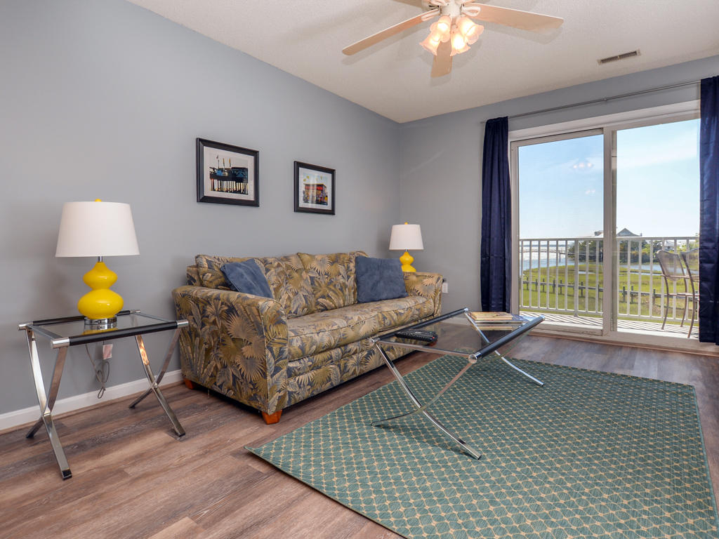 Oasis on the Bay, 103 - Living Room