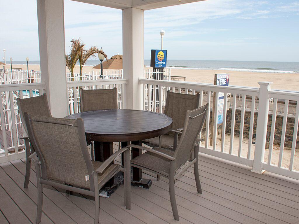 Ocean City Boardwalk Suites, N1 - Balcony Area
