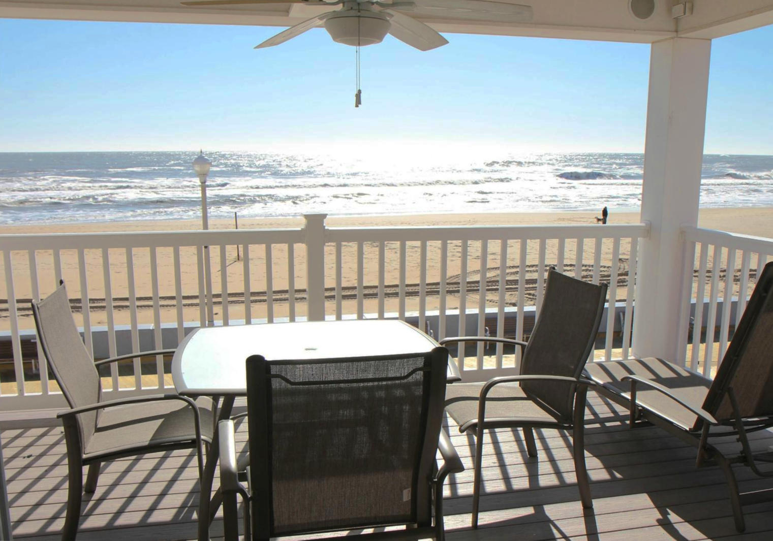 Ocean City Boardwalk Suites - Balcony with Ocean Views