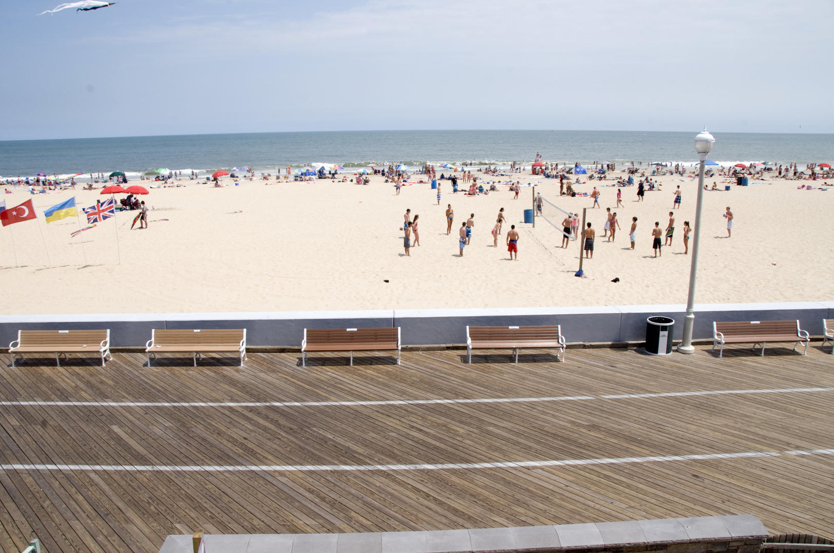OC Boardwalk Suites - View of Beach and Boardwalk