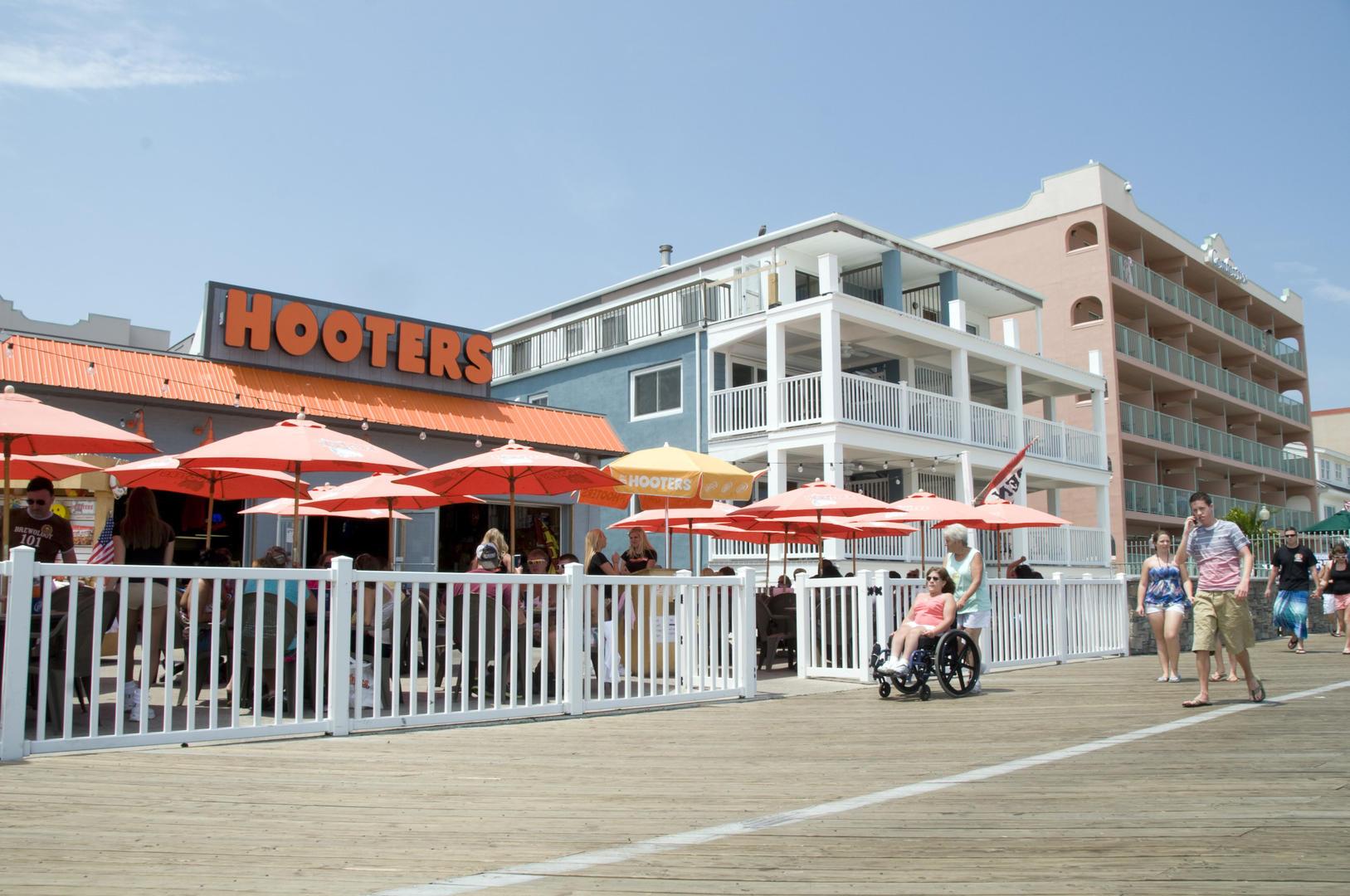 OC Boardwalk Suites - Boardwalk Area