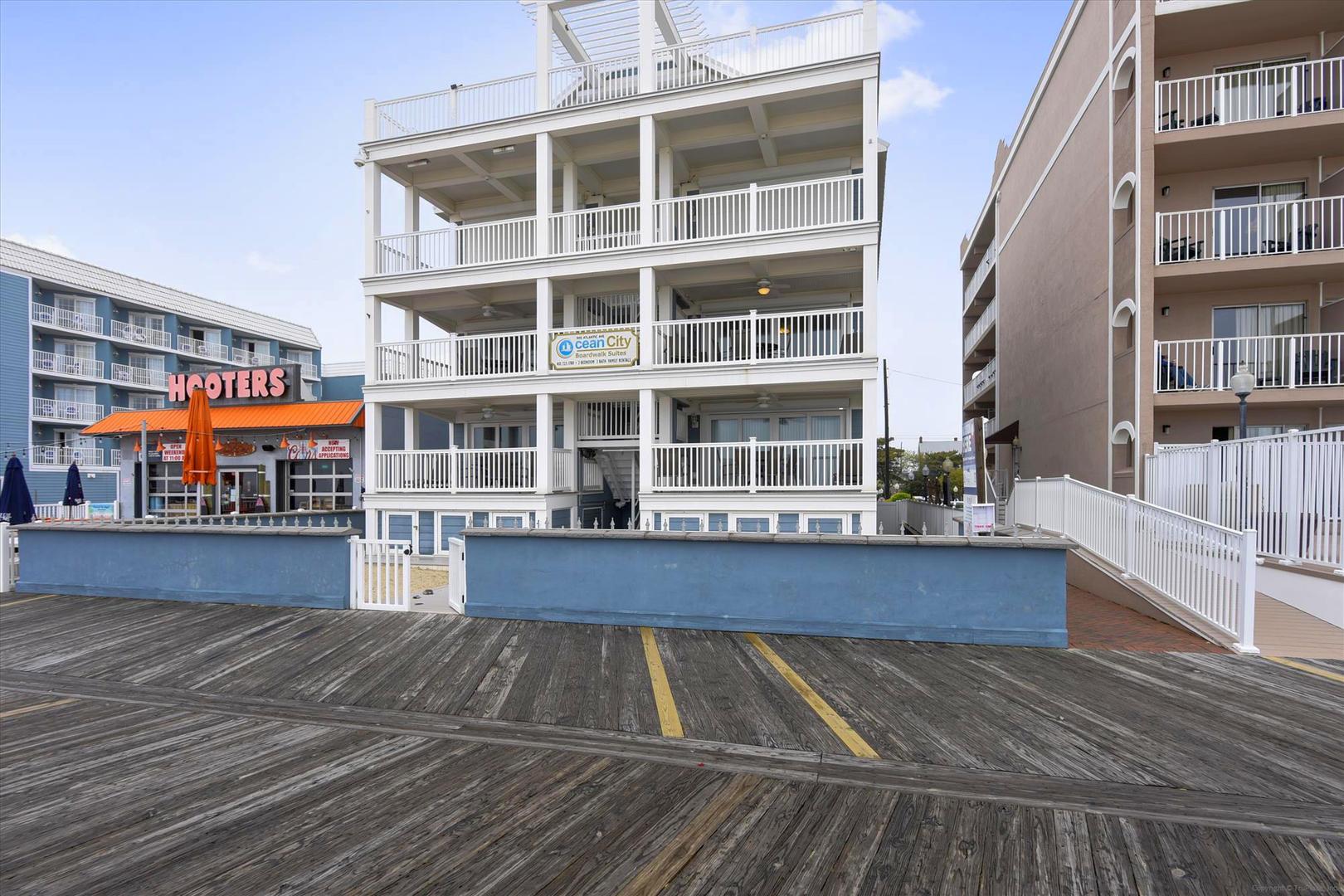 Ocean City Boardwalk Suites N2 - Exterior