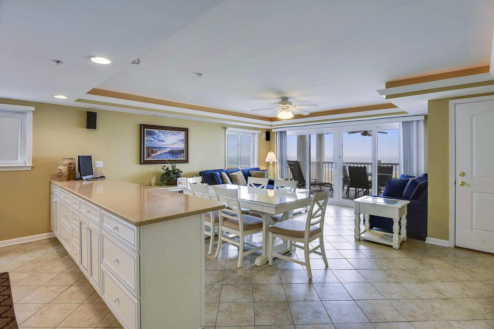 Ocean City Boardwalk Suites N2 - Kitchen