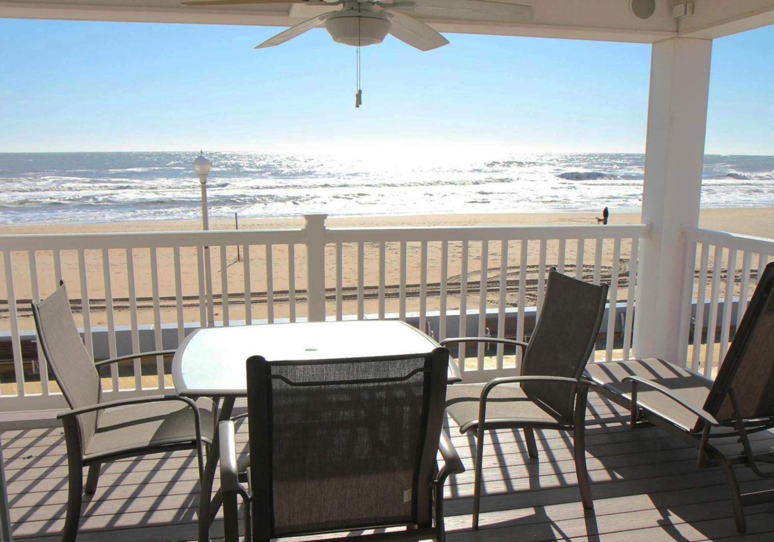 Ocean City Boardwalk Suites N2 - Balcony with Ocean View