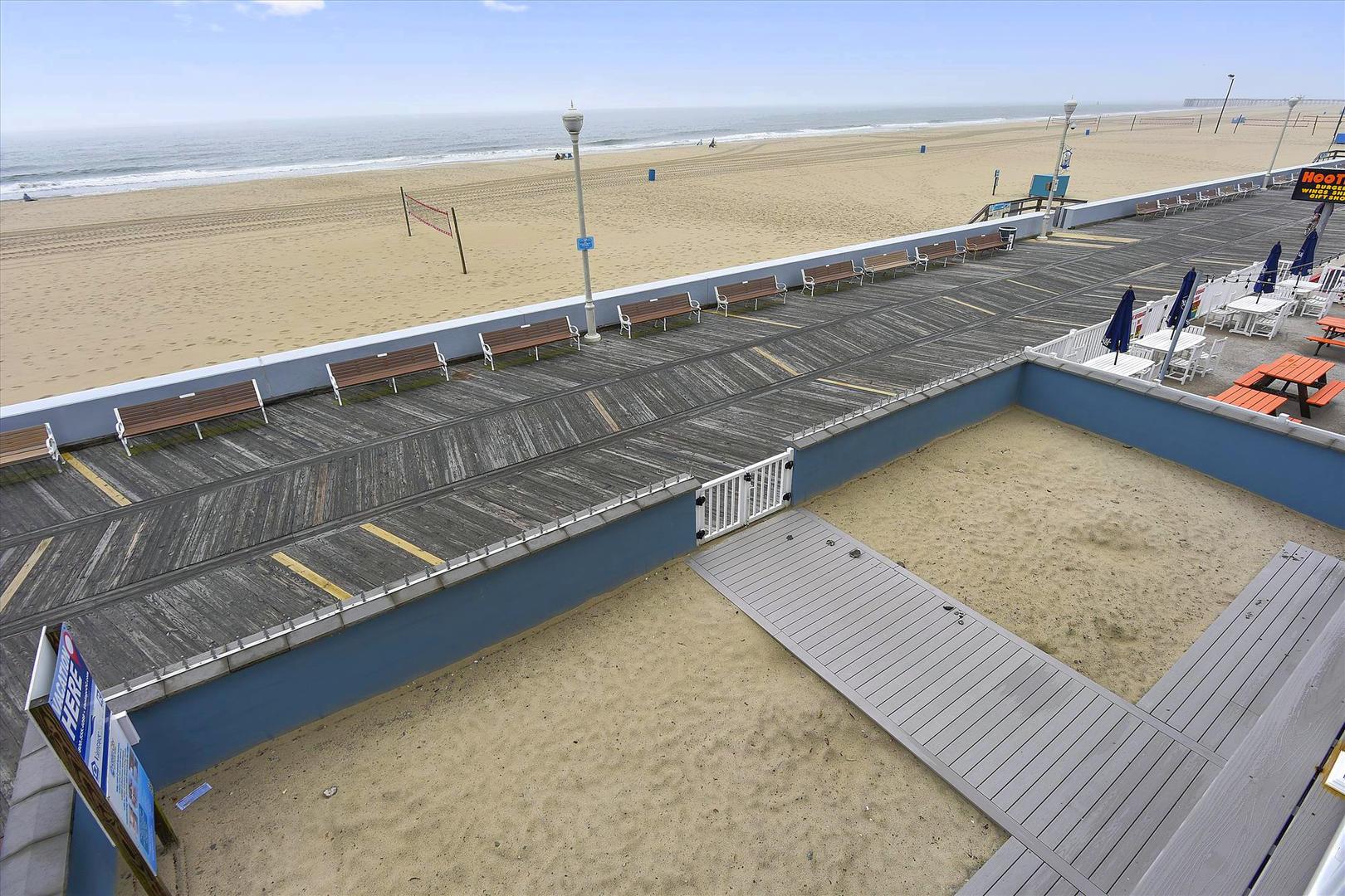 Ocean City Boardwalk Suites N2 - Ocean and Boardwalk View
