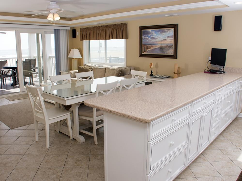 Ocean City Boardwalk Suites, S1 - Kitchen Area