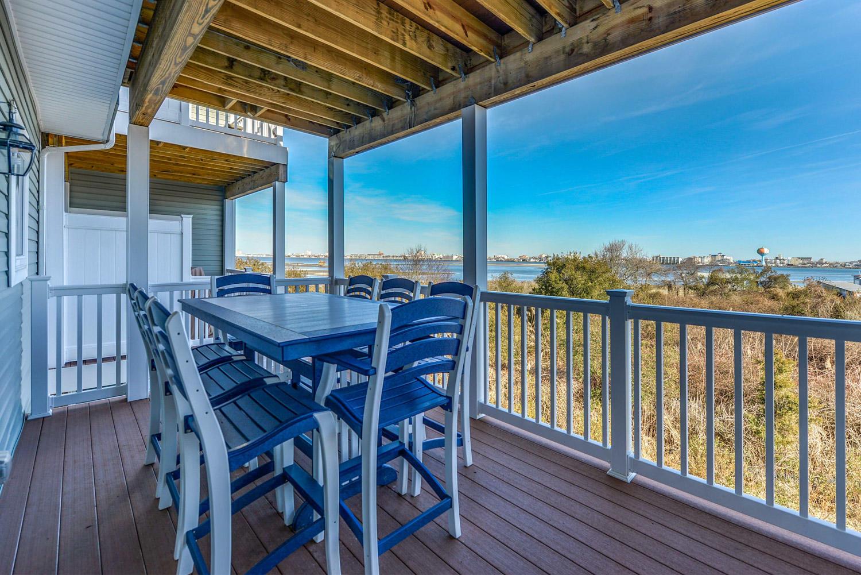 Deck off Kitchen view OC