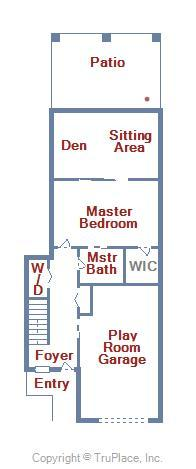 Bayville Shores 1169 - Lower Level Floor Plan