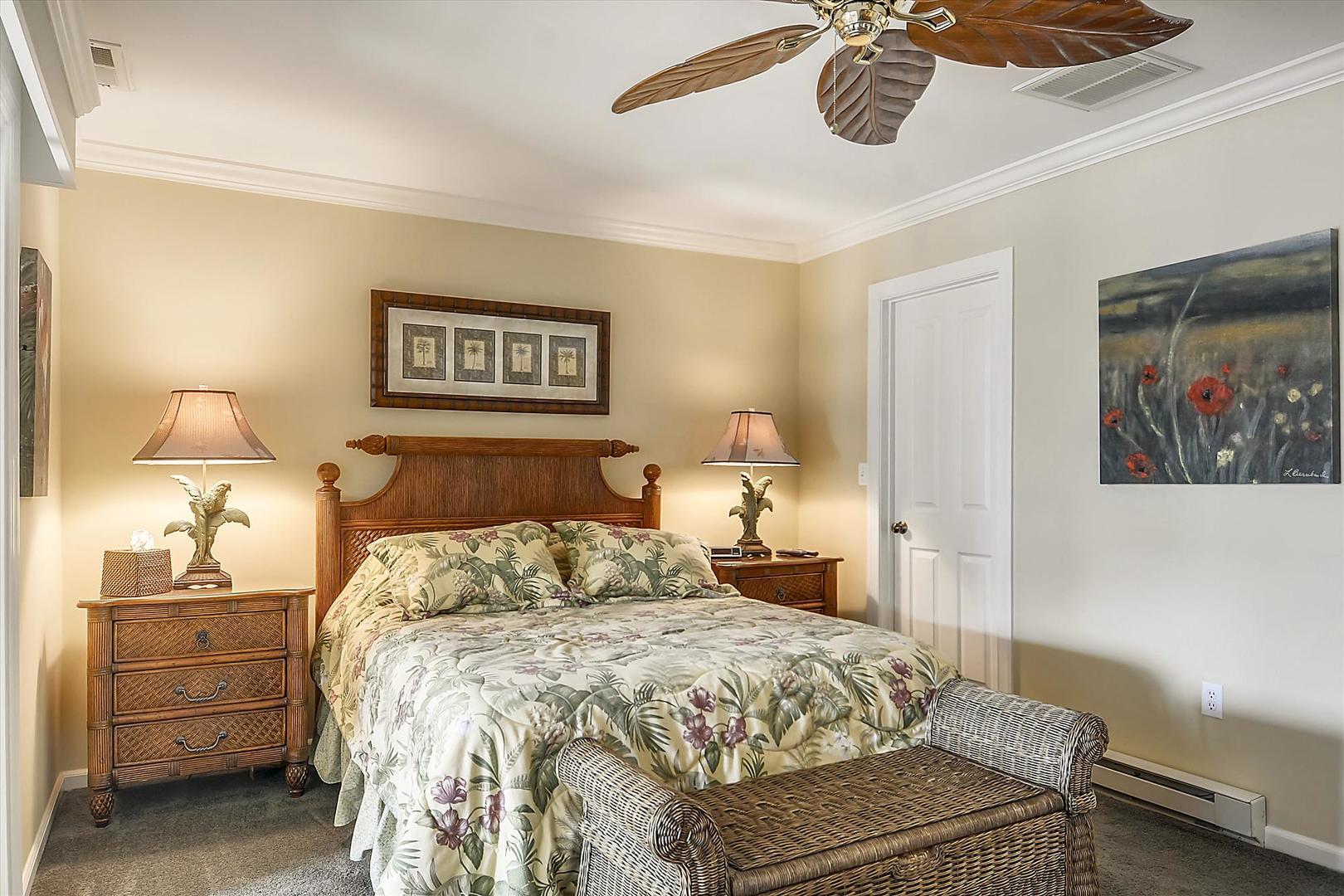 Bayville Shores 1169 - Lower Level Bedroom
