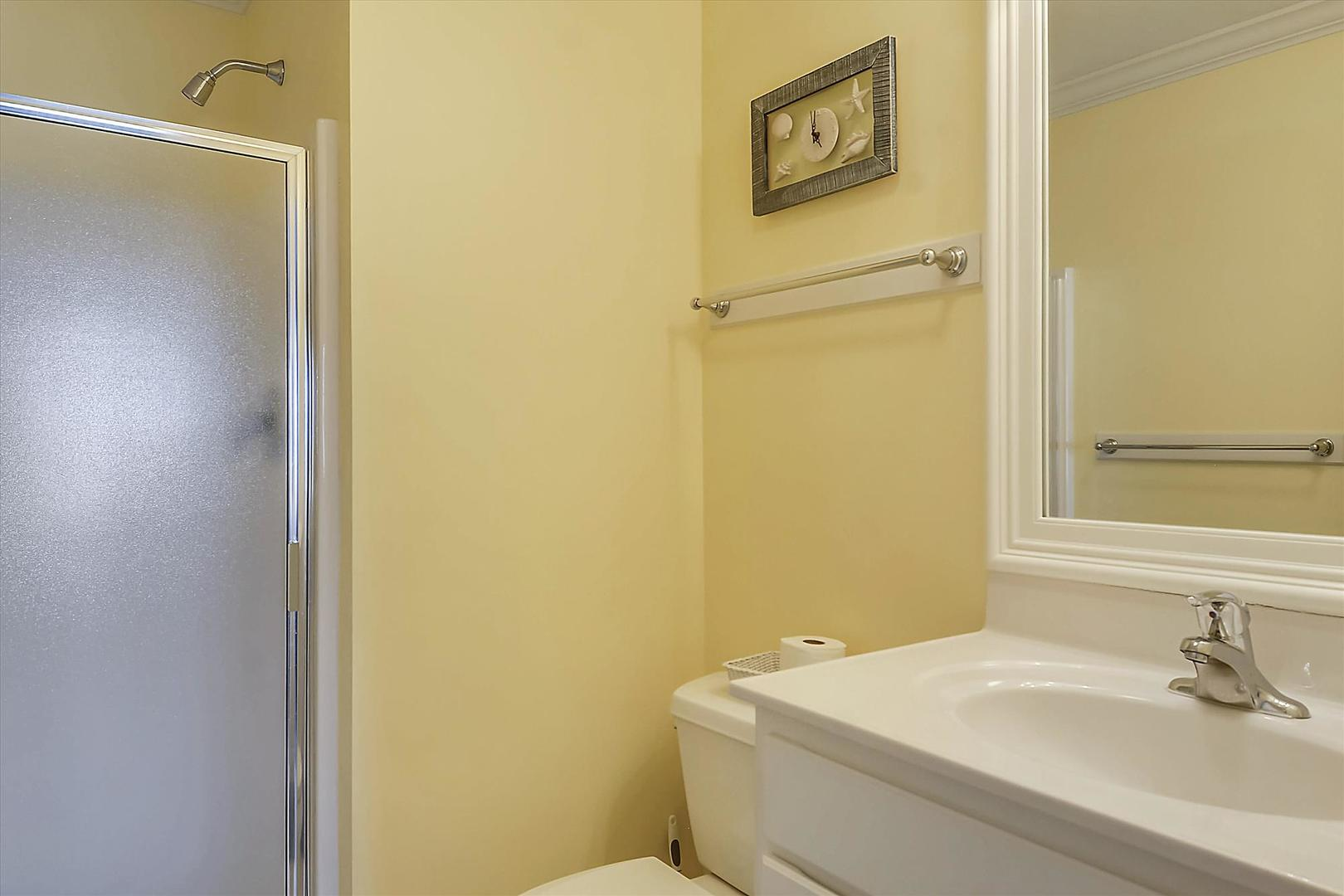 Bayville Shores 1169 - Upper Level Master Bathroom 1