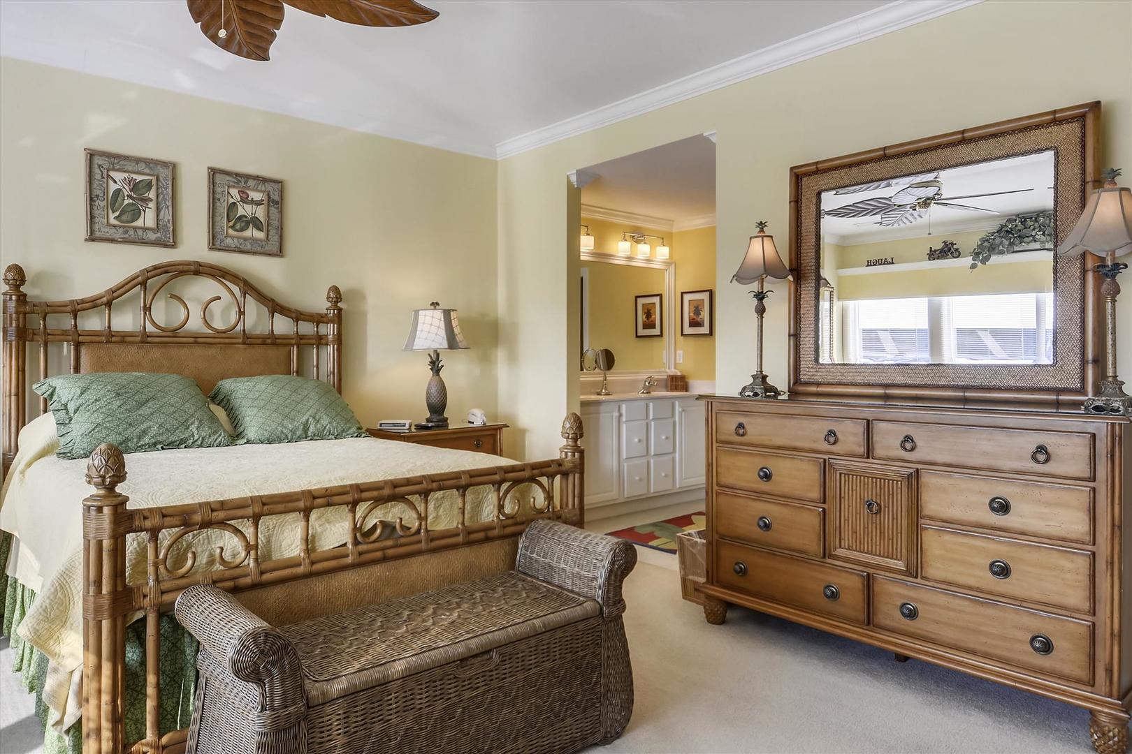 Bayville Shores 1169 - Upper Level Master Bedroom 1