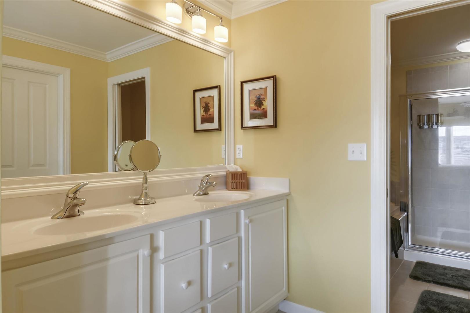 Bayville Shores 1169 - Upper Level Master Bathroom 2