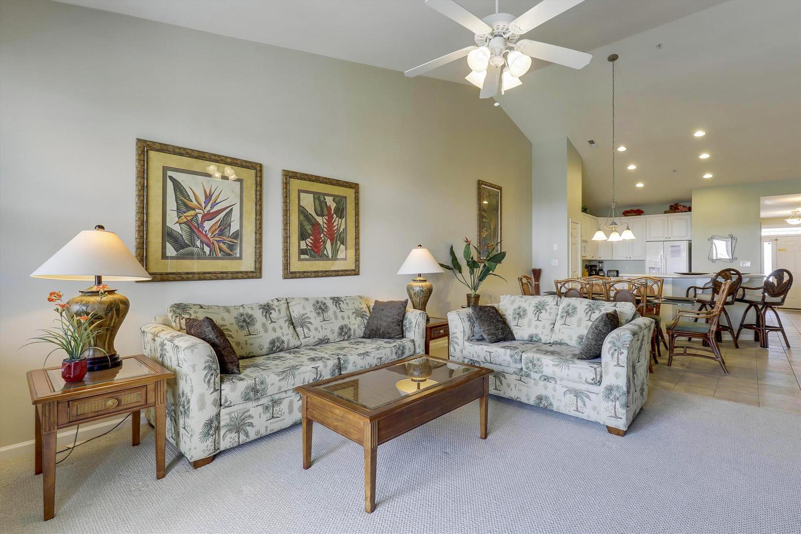 Sunset Island 37 FDW 5D - Living Room