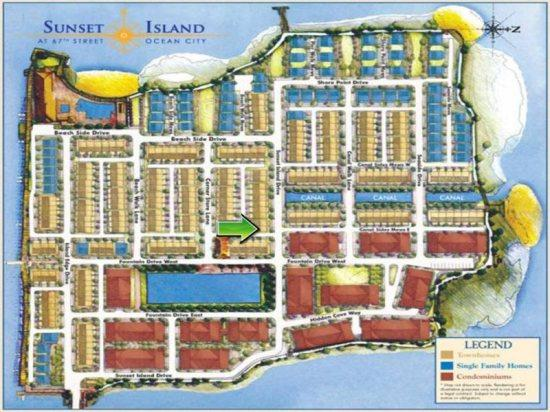 Sunset Island, 15 Sunset Island Drive - Map
