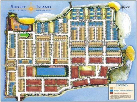 Sunset Island, 12 Beach Side Drive - Map