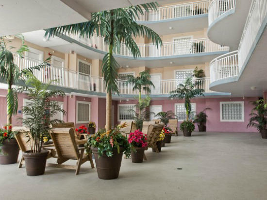 Atrium of Sunset Beach Building