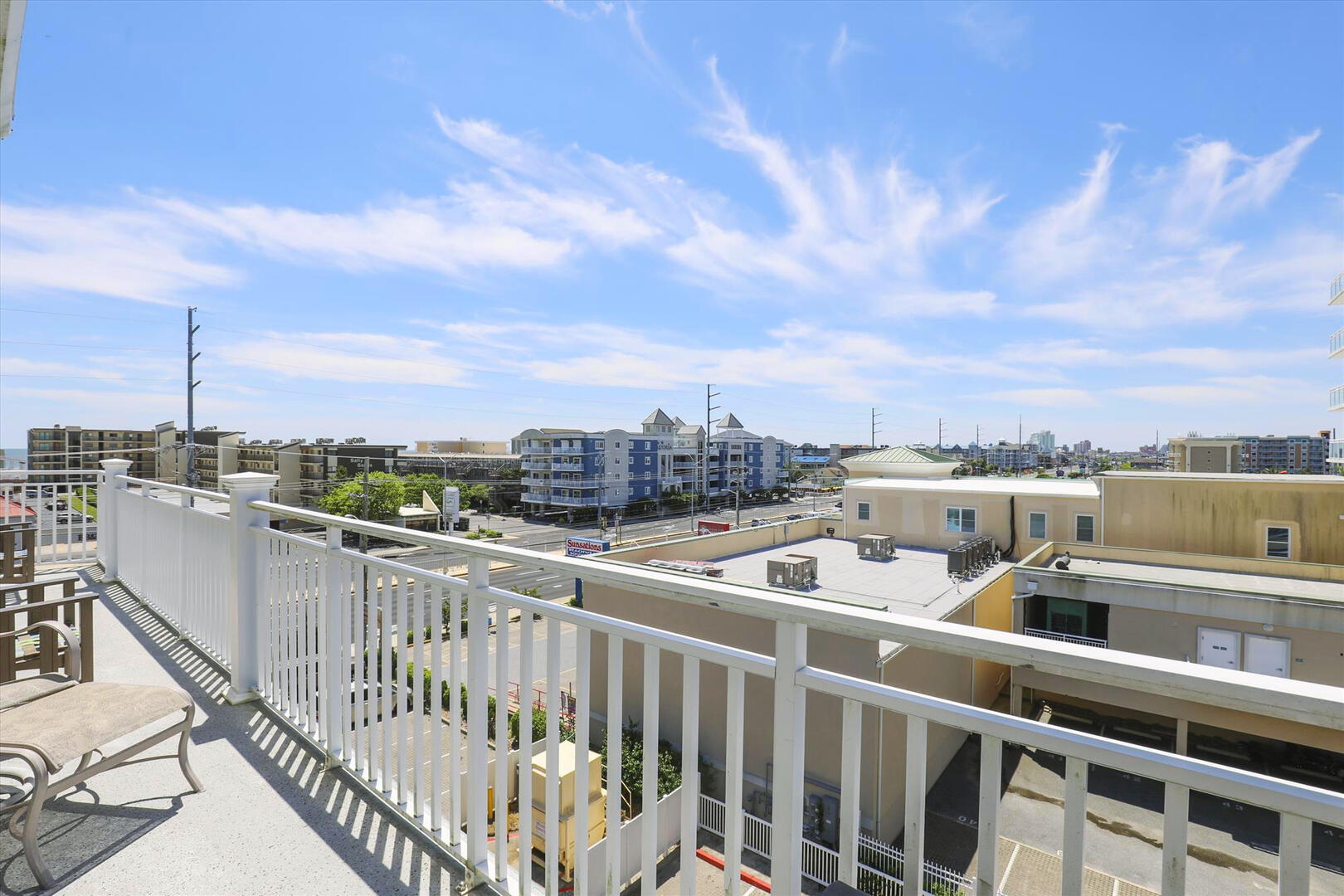Balcony of Sunset Beach 409