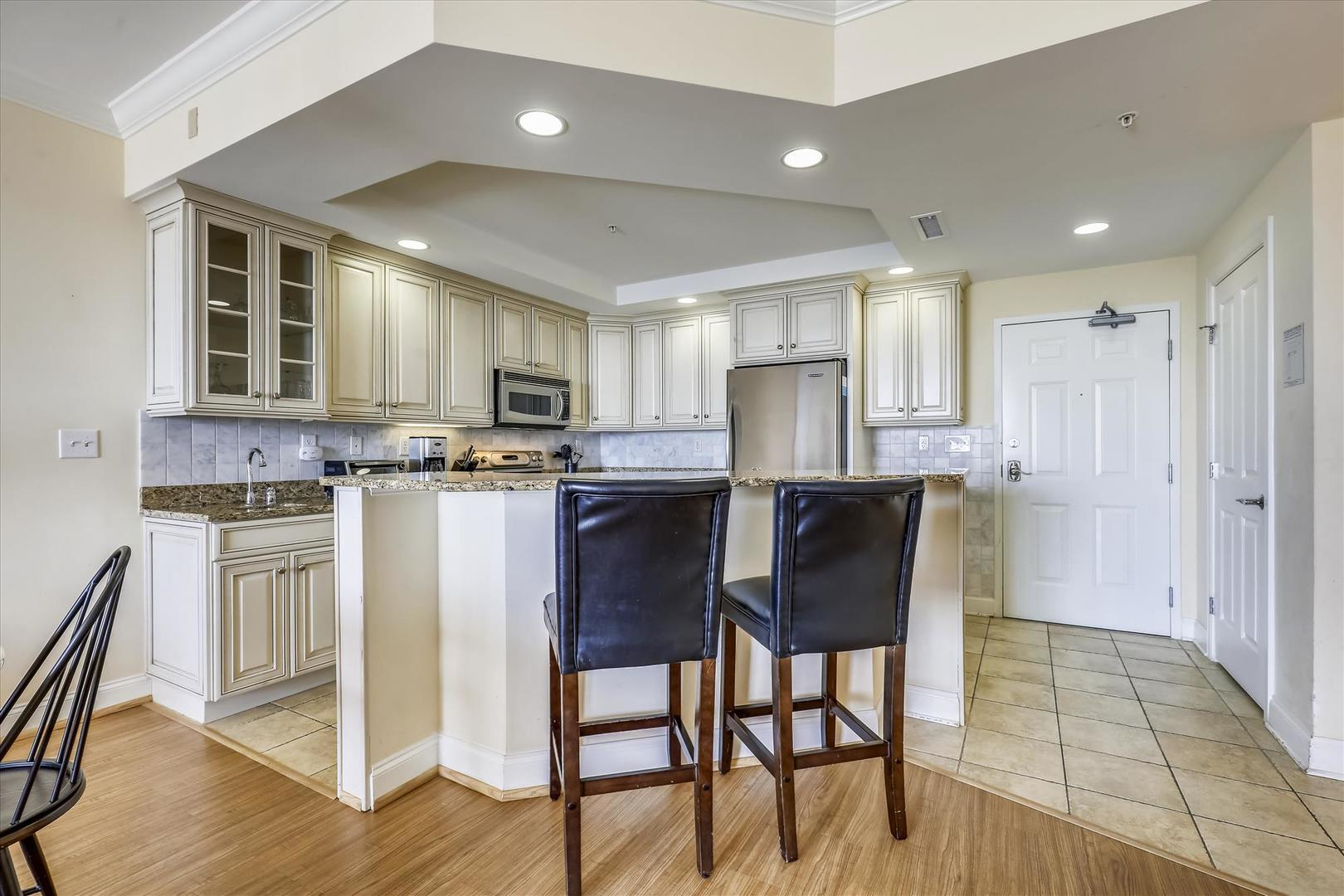 Belmont Towers 608 - Kitchen