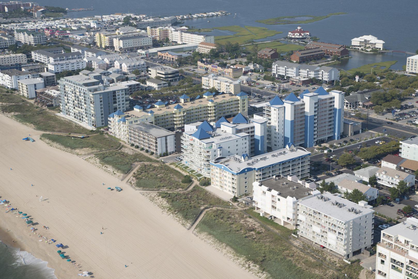 Aerial View of Meridian