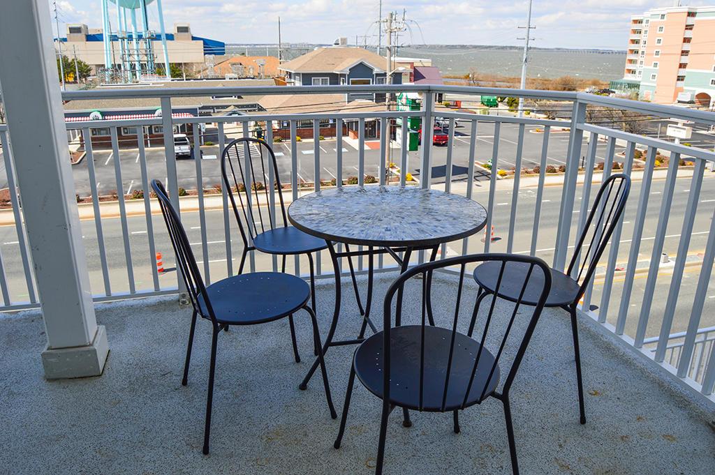 4100 Oceanside Condominiums 302 - Balcony
