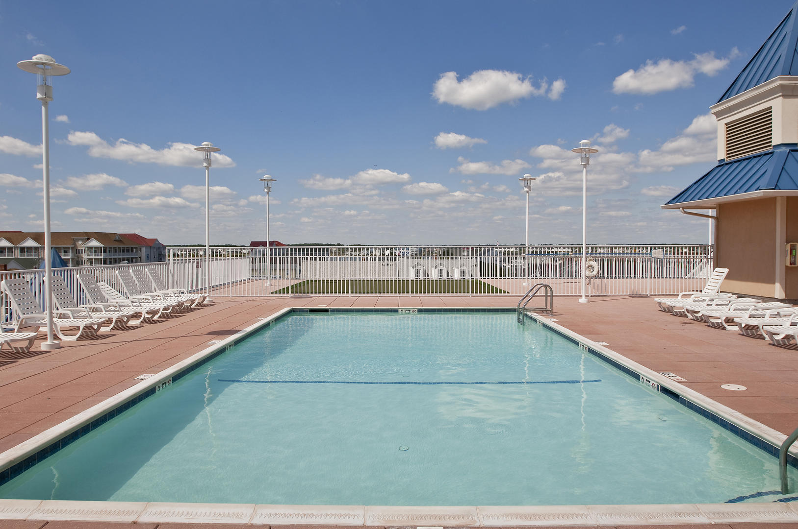 Belmont Towers Rooftop Pool
