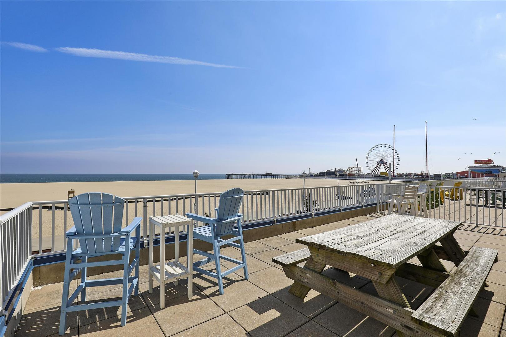 Belmont Towers 205 - Private Deck on the Boardwalk
