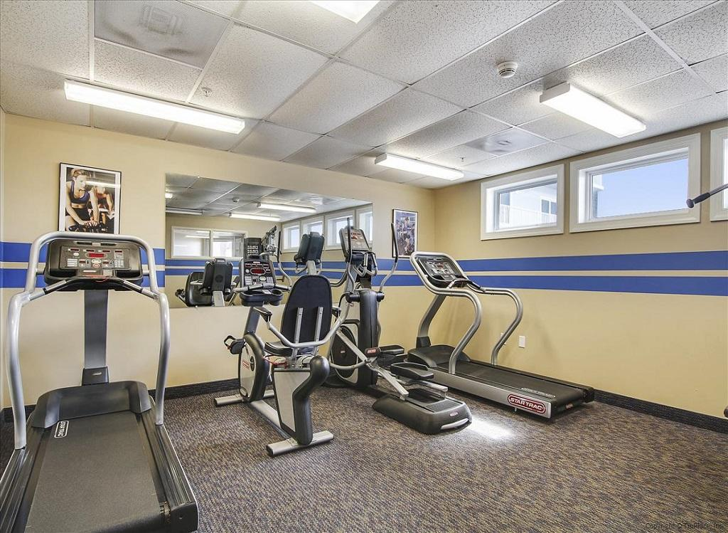 Belmont Towers 604 Fitness Room Photo 2