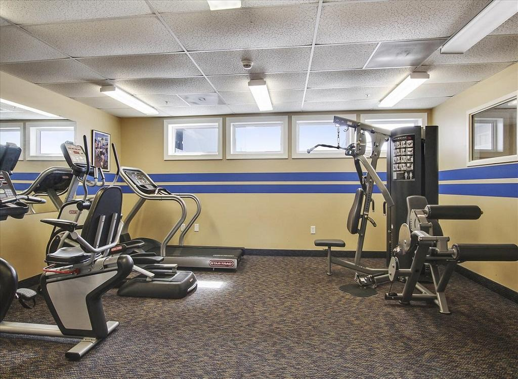 Belmont Towers 604 Fitness Room