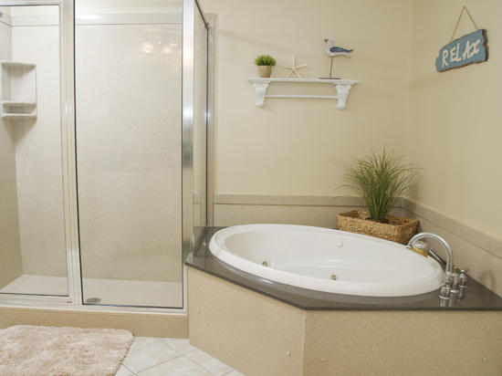 Belmont Towers 711 Master Bathroom