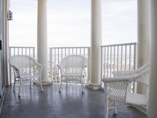 Belmont Towers 711 Balcony
