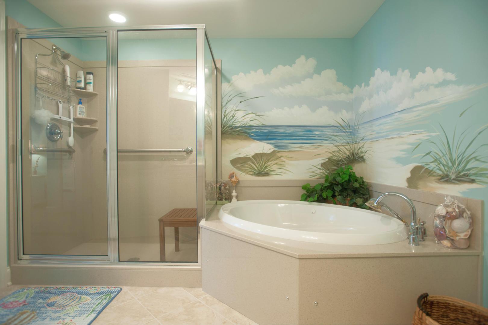 Belmont Towers 411 - Master Bathroom