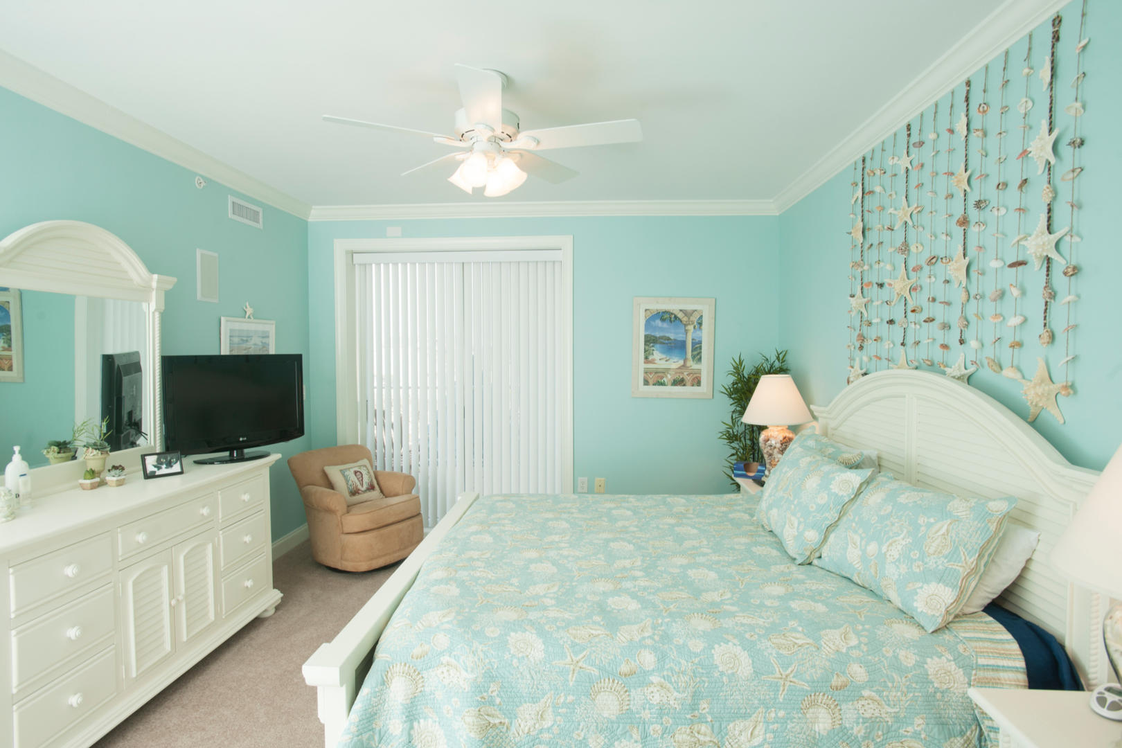Belmont Towers 411 - Master Bedroom