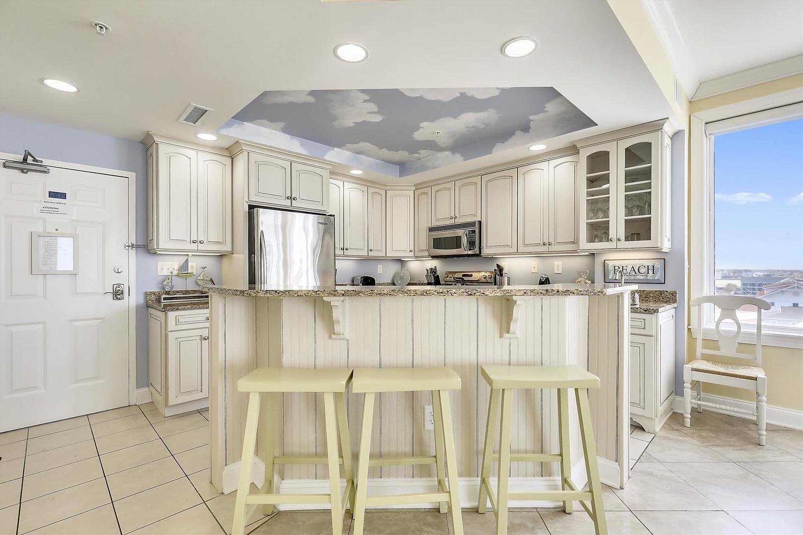 Belmont Towers 511 - Kitchen